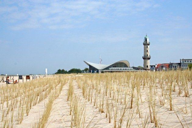 Strand in Warnemünde