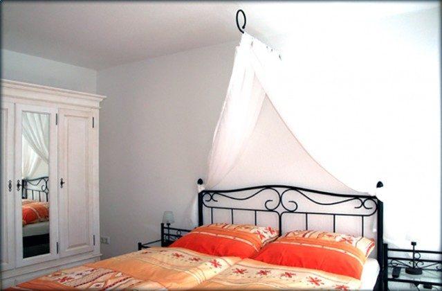 Ferienwohnung Schlafzimmer oben