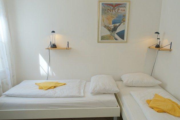 Schlafzimmer Ferienwohnung Warnemünde Anastasiastr.