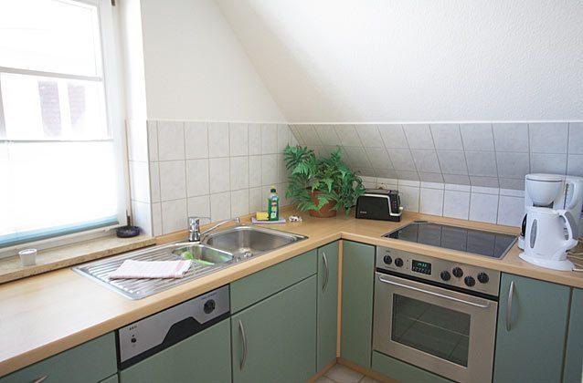 Küche Warnemünde Ferienwohnung Möwenblick