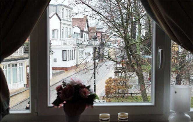 Wohnbereich Ferienwohnung Möwenblick