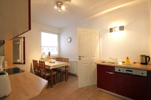 Warnemünde Ferienwohnungen mit Stil - 2959 - Ferienwohnung links - Küche