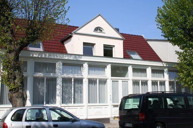 Warnemünde Ferienwohnungen mit Stil - 2959 - das Haus von außen