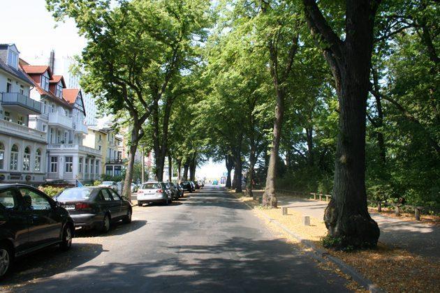 Ferienwohnung am Kurpark_Ref 3032_Weg zum Strand