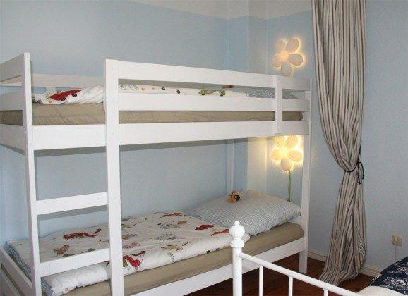 Warnemünde Ferienwohnung Alma - Schlafzimmer Kinderhochbett - Ref 52164