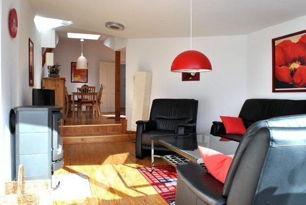 Ferienwohnung : Wohnzimmer