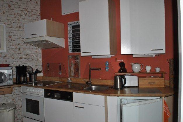 Warnemünde Ferienwohnung Ankerplatz Küche
