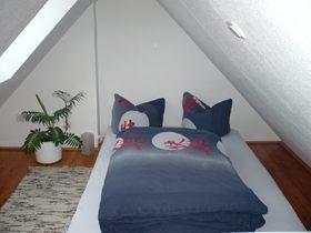 Ferienwohnung Dänische Straße Schlafbereich