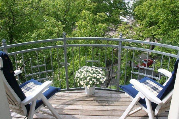 Warnemünde Ferienwohnung Balkon 53885-1