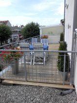 Ferienwohnung Warnemünde Terrasse