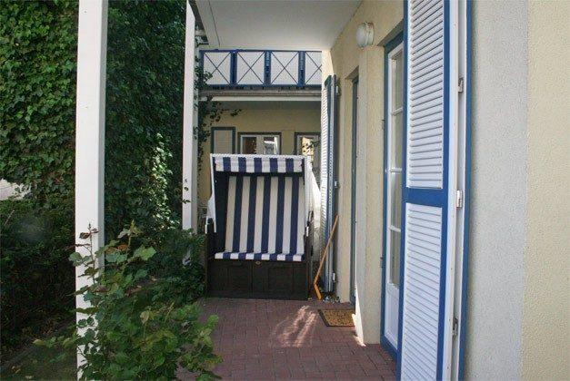Warnemünde Ferienwohnung Poststraße Ref. 54075 Terrasse