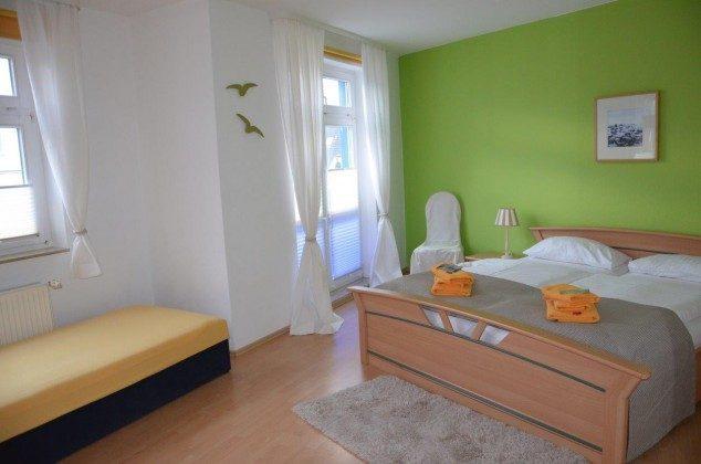 Ferienwohnung Seeschwalbe Wohnraum/Schlafzimmer 58843-16