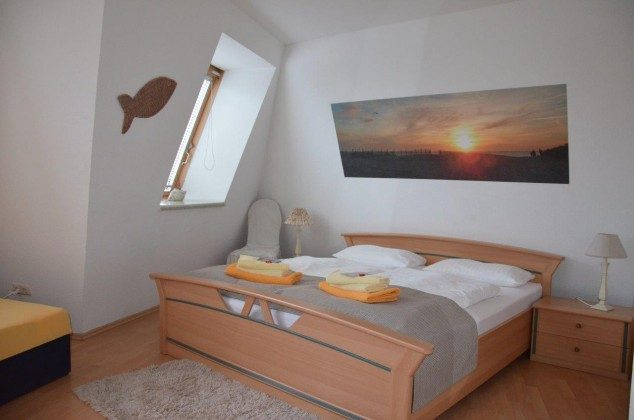 Ferienwohnung Kiebitz Schlafzimmer 58843-18