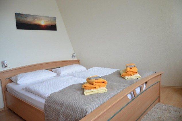 Ferienwohnung Strandläufer Schlafbereich 58843-23