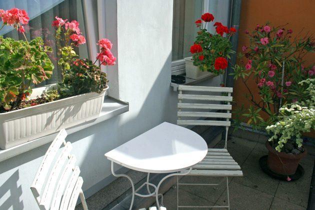 Warnemünde Ferienwohnung Balkon 58843-15