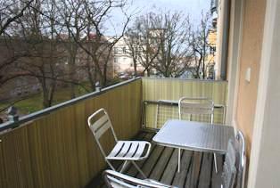 """Warnemünde Ferienwohnung """"Strandkieker"""" - Balkon - Ref. 60444"""