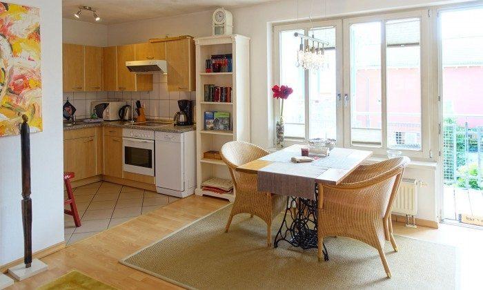 Warnemünde Möwennest - Küche/Essbereich - Ref: 62297