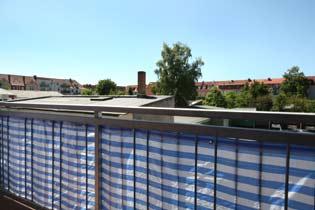 Balkon Warnemünde Ferienwohnung Windrose