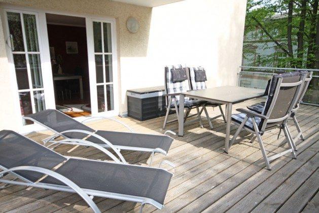 Warnemünde Ferienwohnung Fernweh - Terrasse - Ref: 74791 - 1