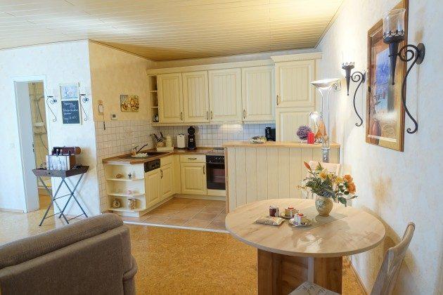 Wohn-Küchenbereich Warnemünde Ferienwohnung Jette Ref. 81783