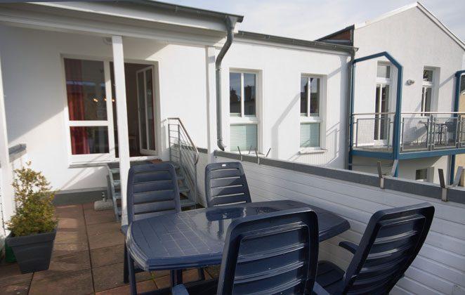 Terrasse Warnemünde Ferienwohnung Ref: 85603-2