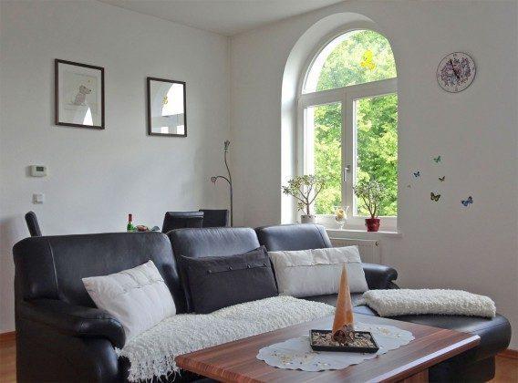 Wohnzimmer Warnemünde Ferienwohnung Kurhausstraße Ref. 95045
