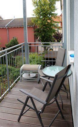 Ferienwohnung Warnemünde Balkon Ref. 99492