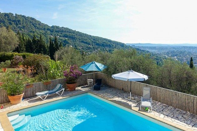 Villa mit privatem Pool in Cabris bei Grasse