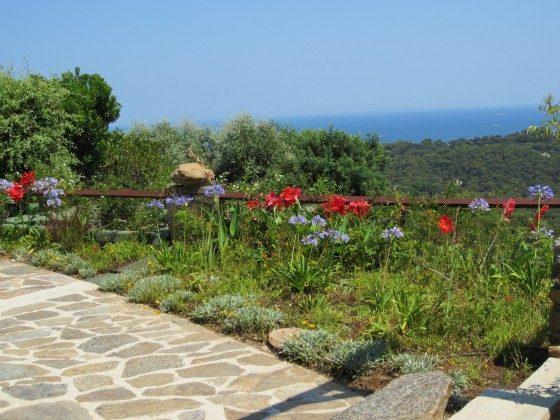 Teilblick von der Terrasse