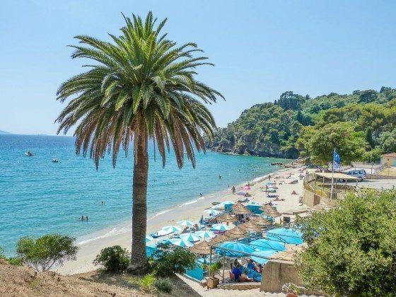 Strand von Le Rayol Canadel