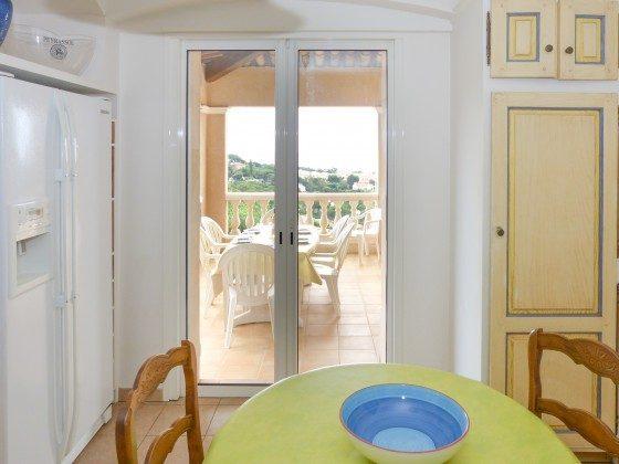 Separate Küche im Ferienhaus in Les Issambres