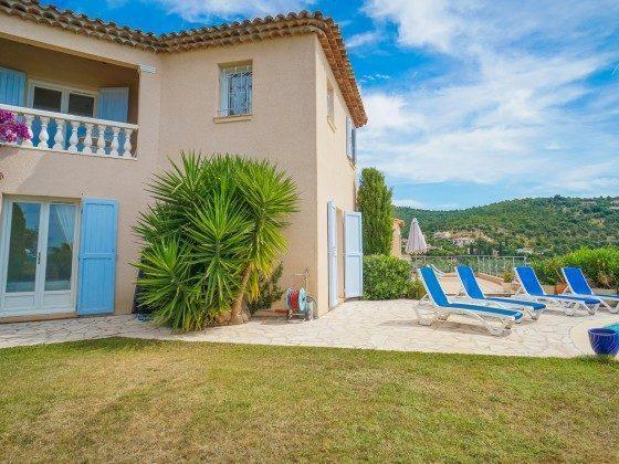 Ferienhaus mit Meerblick und Pool in Les Issambres