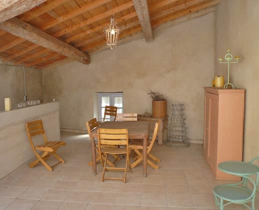 Ferienhaus Ref. 95515-4 Sallèles Aude Frankreich Überdachte Terrasse