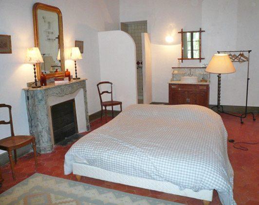 Schlafzimmer 1 Ferienhaus Ref. 95515-4 Sallèles Aude Frankreich