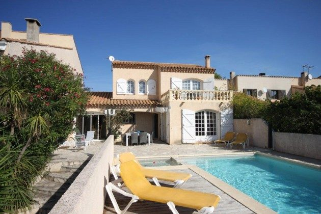 Languedoc Gruissan Ferienvilla Le Clos Bild 1