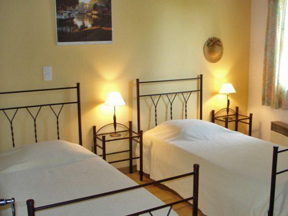 Schlafzimmer Ferienhaus Lezignan Corbieres