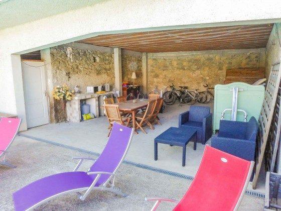 Aussenküche und Terrasse  Languedoc-Roussillon Corbières Ferienhaus Ref. 95515-9