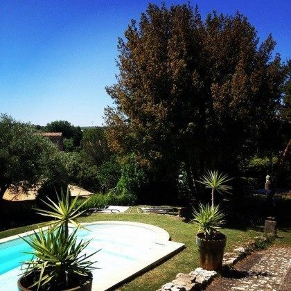 Bild 2 - 2 Ferienhäuser mit gemeinsamen Pool nahe Collias  - Objekt 153503-1