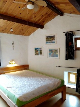 Turmschlafzimmer Bett 160/200