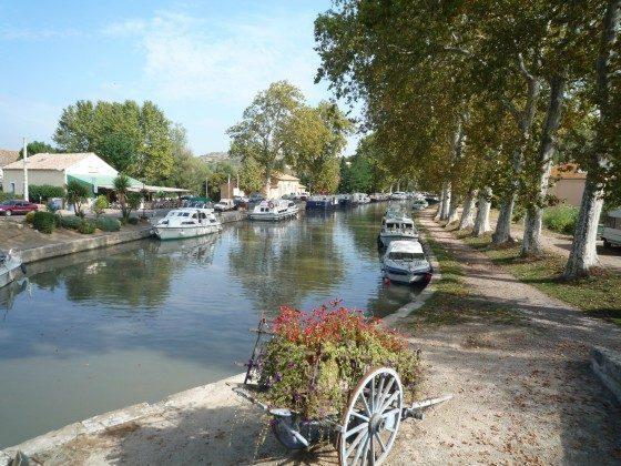 Canal du midi, Südfrankreich, Ferienhaus, Privat, nähe Meer, Bewachte Anlage