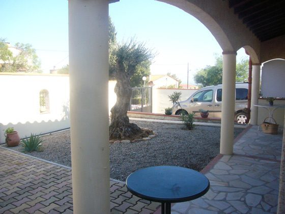 Ferienhaus Tresserre/Perpignan Terrasse