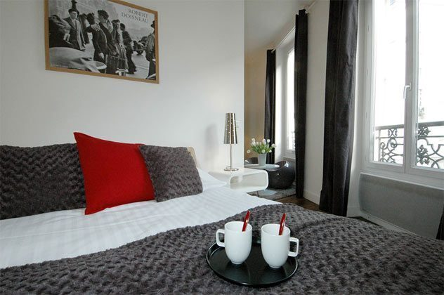 Schlafzimmer c Apartment Paris Bretagne Ref. 67038-10