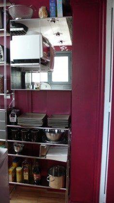 Ferienwohnung Paris - Küche