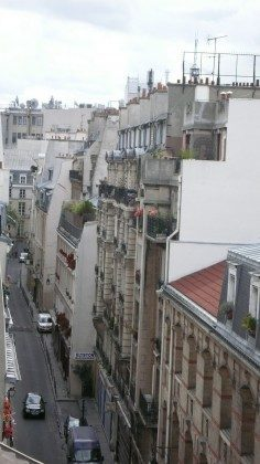 Ferienwohnung Paris - Aussicht
