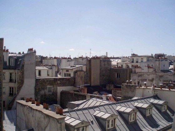 Ferienwohnung Paris - Balkon Aussicht