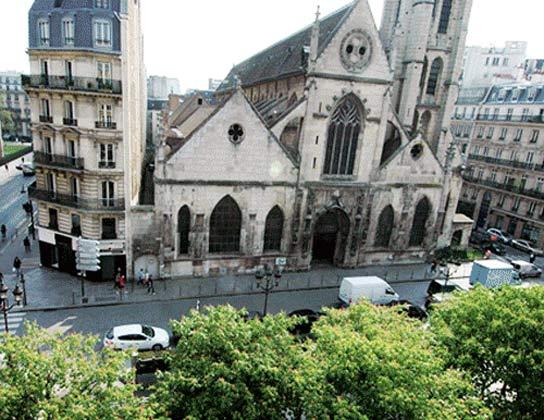 Ausblick Ferienwohnung Paris 67038-7