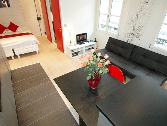 Ess-/Wohnbereich  Studio Paris Temple Beaubourg Ref. 67038-9