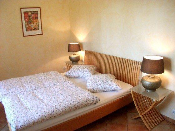"""""""Les Oliviers"""" - Schlafzimmer 1 mit Doppelbett"""