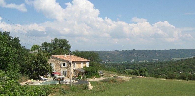 La Barraque - von die Seite