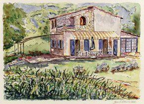 Malerische Impression des Hauses